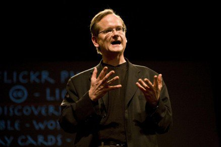 Lawrence Lessig - Crédit: Robert Scoble sous licence CC BY 2.0
